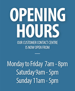 Small 7 - Spring - Opening Hours