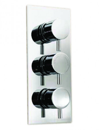 Circo Concealed Triple Thermostatic Shower Valve