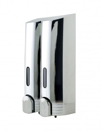 Tall Double Chrome Soap Dispenser