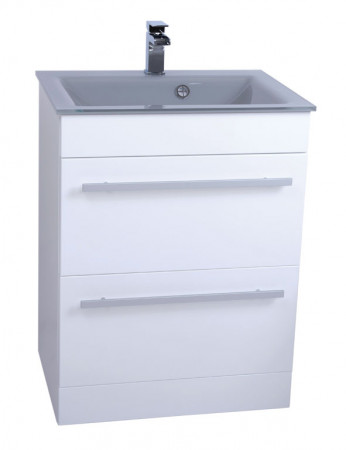 Venice Grey 600 Select Unit & Basin