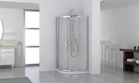 Series 8 Plus Two Door Quadrant Shower Enclosure 1000