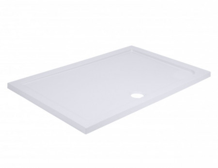 40mm Pearlstone 1400 x 800 Rectangular Shower Tray