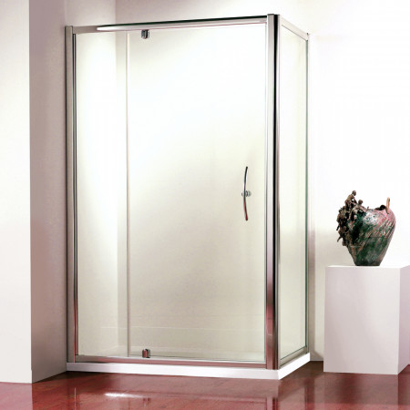 Kudos Original Pivot Wide Door 1100mm Silver