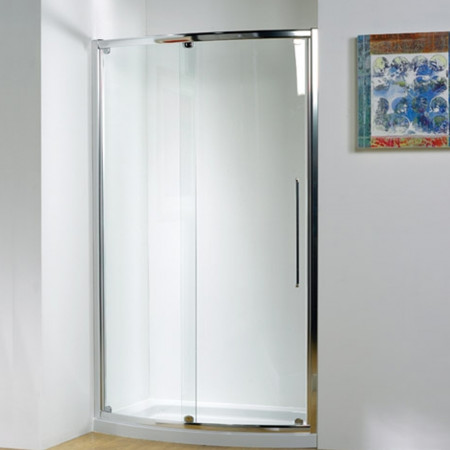 Kudos Original Bow Fronted Slider Door 1700 Silver
