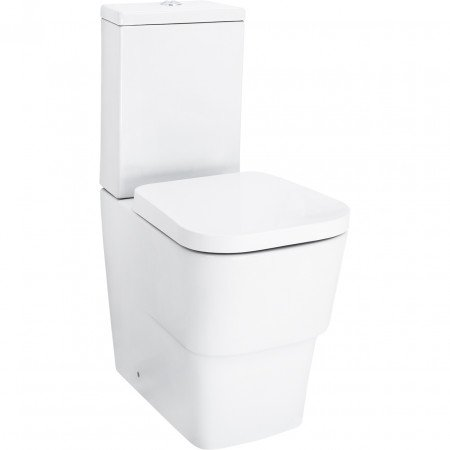 Club Fully Back To Wall Close Couple Toilet with Soft Close Seat