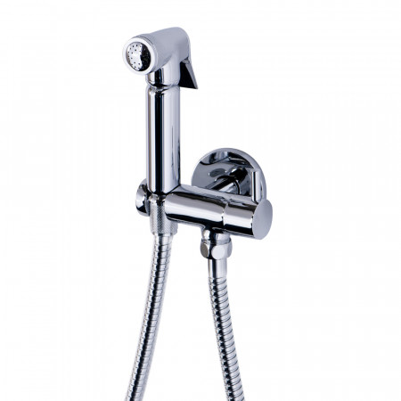 Wall Mounted Douche Shower Spray with Shut off Valve