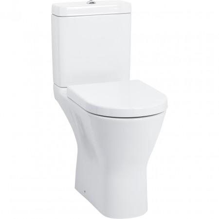 Rio Comfort Height Open Back Toilet with Soft Close Seat