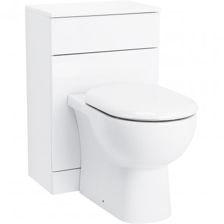 Alexander James 500mm x 300mm Toilet Unit & Monza Back to Wall Pan