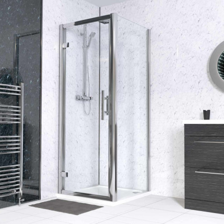 Series 8 Plus 800 x 800 Hinged Door Enclosure