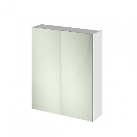 Hudson Reed 600 Fitted Mirror Unit (50/50) 715mm x 600mm x 182mm - OFF117