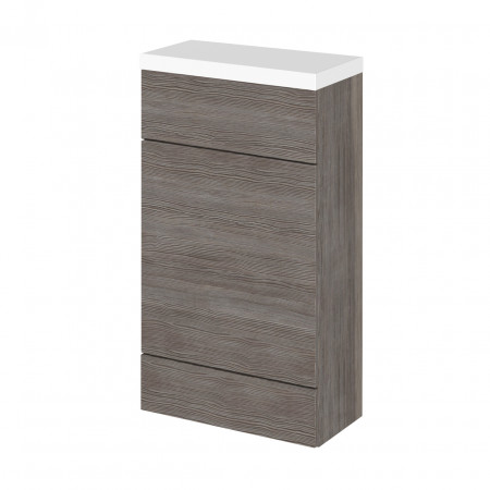 Hudson Reed Grey Avola 500mm Compact WC Unit with Polymarble Top - CBI504