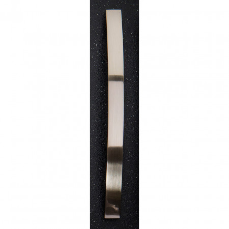 Hudson Reed Satin Nickel Strap Handle 15mm Thick 206mm x 24mm - H932
