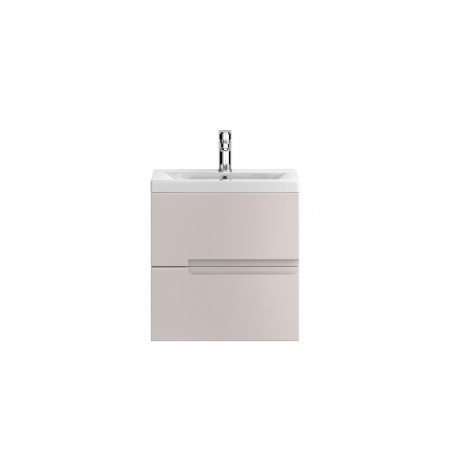 Hudson Reed Urban Cashmere Wall Hung 500mm Cabinet & 18mm profile Basin - FMU714 & FCM002