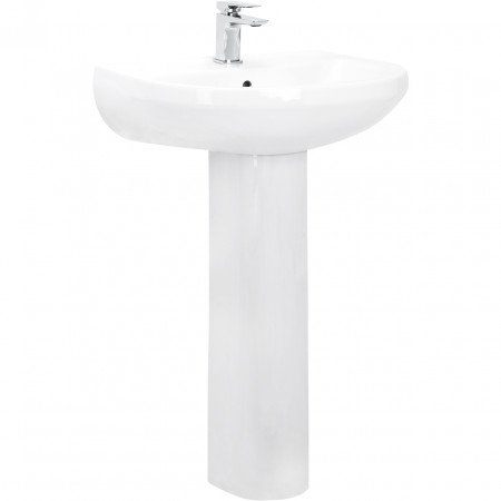 Ideal 560mm Basin & Pedestal