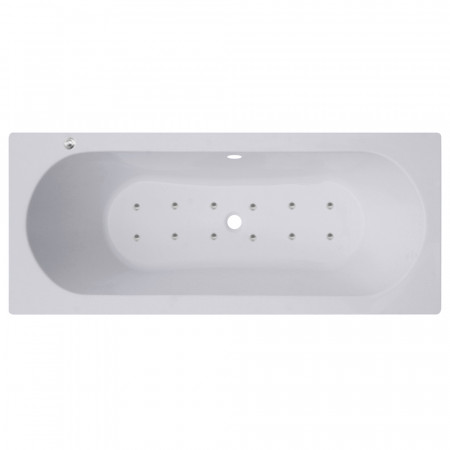Metropole Centre Tap 12 Jet Easifit Spa Whirlpool Bath 1700x700