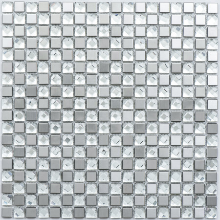 Mini Crystal Mirror 305x305mm Mosaic Sheet