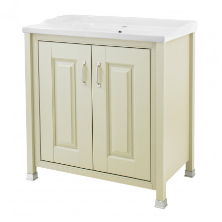 Old London Pistachio 800mm Cabinet & Basin - NLV205 & NLV005