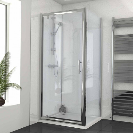 Series 6 900 x 800 Pivot Door Enclosure