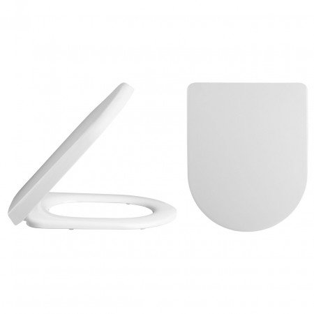 Premier Luxury D Shaped Toilet Seat with a Square Edge - NTS007