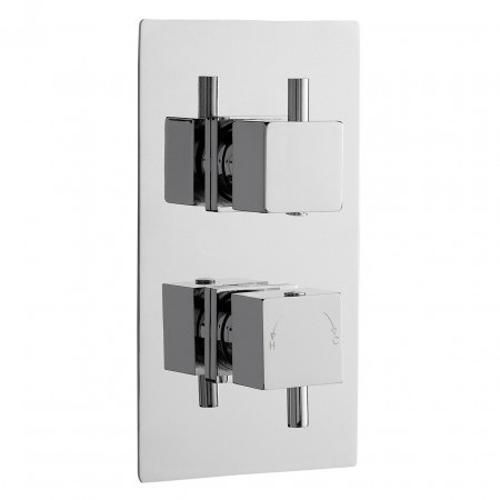 Premier Pioneer Twin Thermostatic Valve Square Handles - JTY371