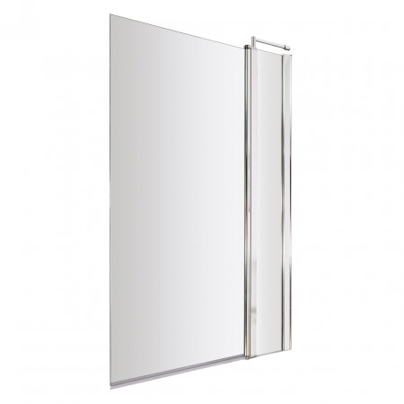 Premier Square Bath Screen with Fixed Panel - NSSQ1