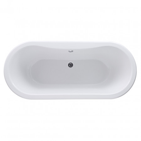 Premier White Grosvenor 1700 Double Ended Freestanding Bath with Corbel Legs - RL1705T