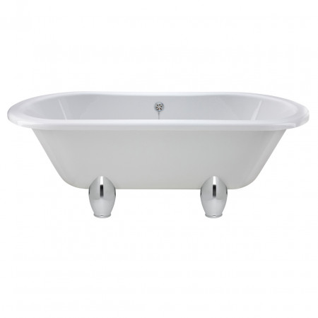 Premier White Grosvenor 1700 Double Ended Freestanding Bath with Deacon Legs - RL1705M1