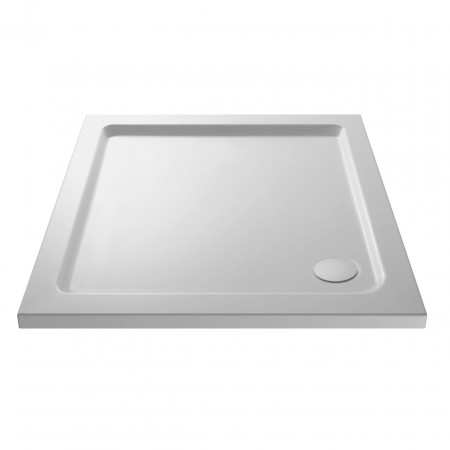 Premiere Pearlstone 700mm x 700mm x 40mm Square Shower Tray - NTP002
