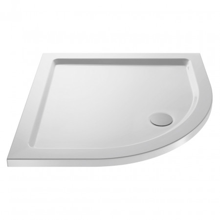 Premiere Pearlstone 900mm x 900mm x 40mm Quadrant Shower Tray - NTP106