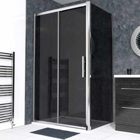 Series 9 1200 x 900 Tinted Sliding Door Enclosure