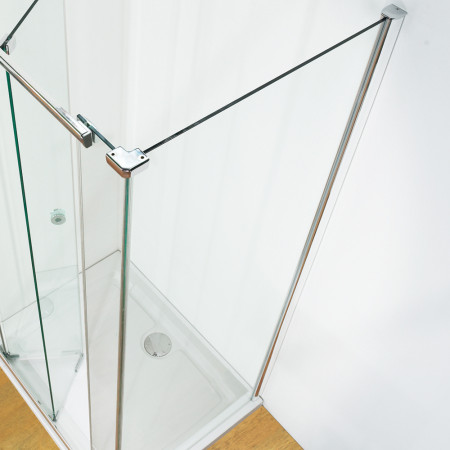 Kudos Infinite Semi-Frameless Side Panel 1000mm Silver