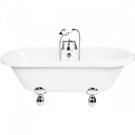 Sophie Freestanding Double Ended Bath with Modern Feet