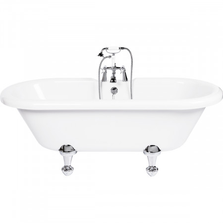 Sophie Freestanding Double Ended Bath with Traditional Feet