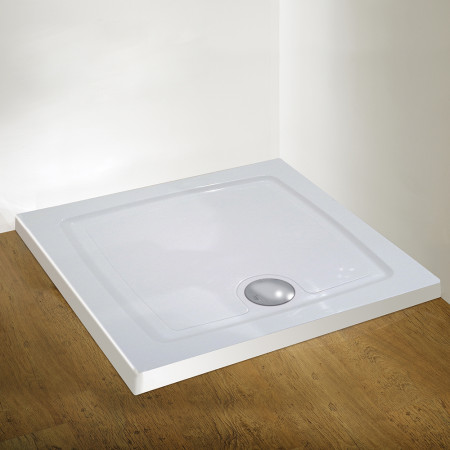 Kudos Concept 2 Shower Tray 800 x 800 DS80W