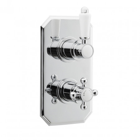 Ultra Traditional Twin Concealed Thermostatic Valve - ITY316