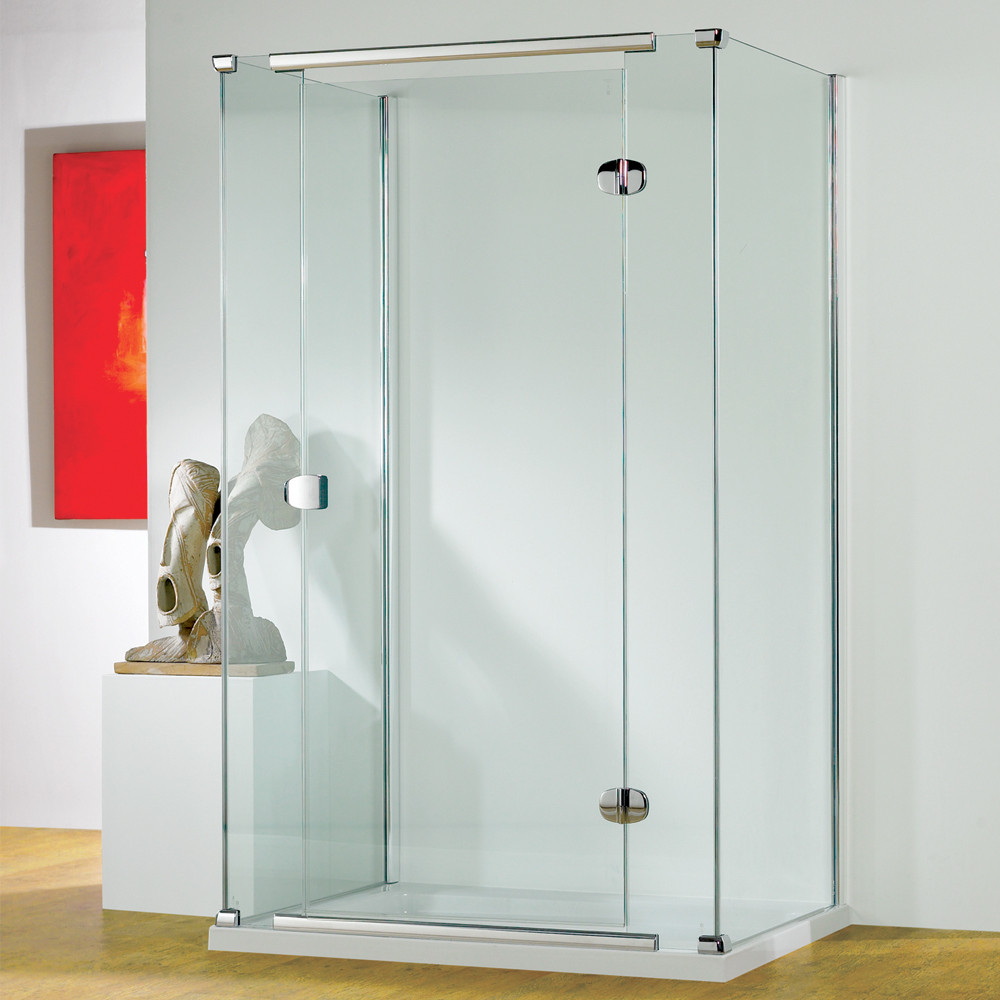 Kudos Infinite Semi-Frameless Hinge Door Right Hand 800mm Silver