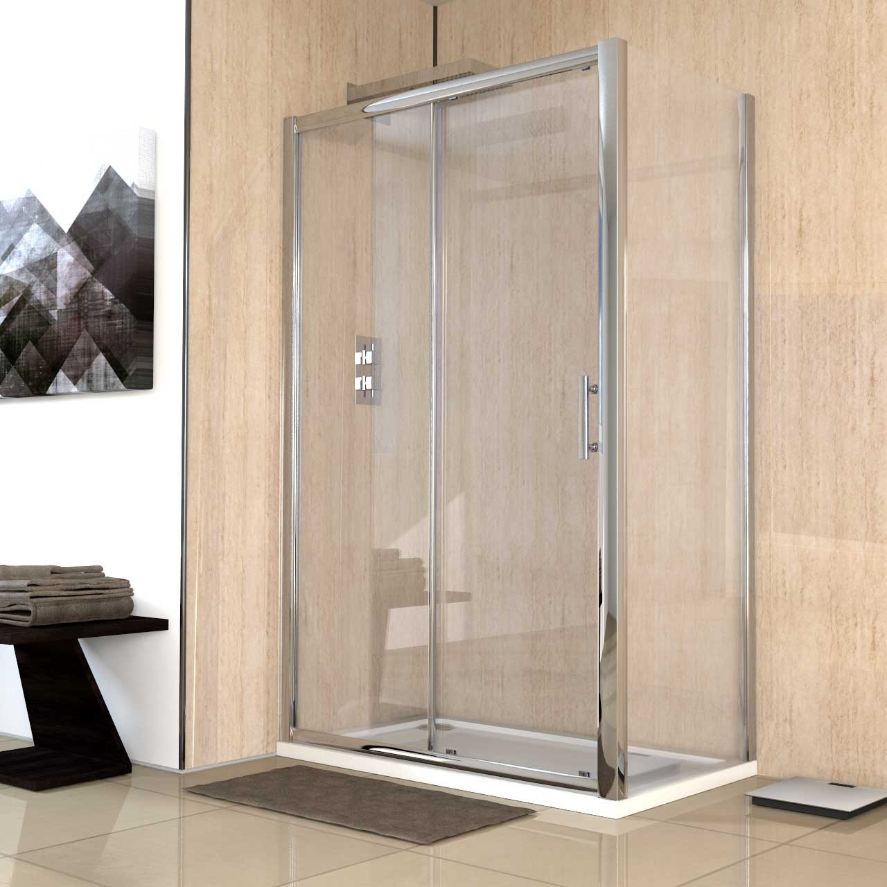 Series 8 1200 x 700 Sliding Door Enclosure