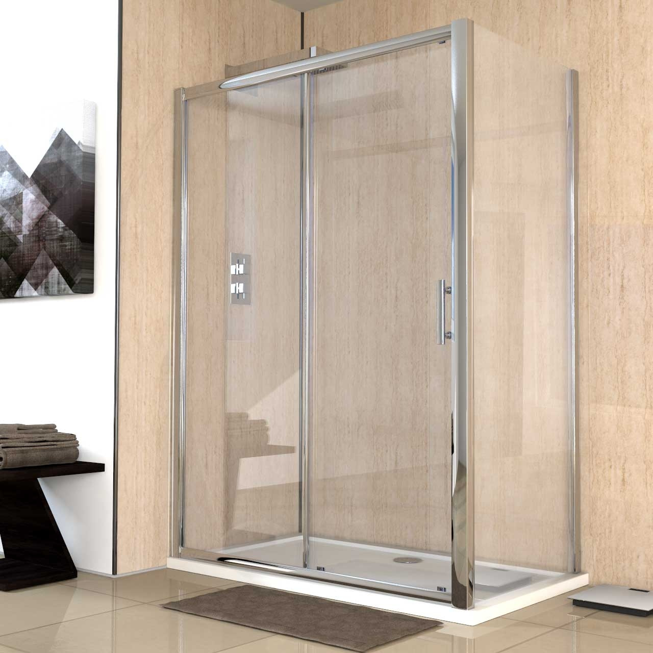 Series 8 1400 x 800 Sliding Door Enclosure