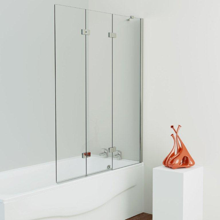 Kudos Inspire Three Panel Infold Shower Screen Right Hand