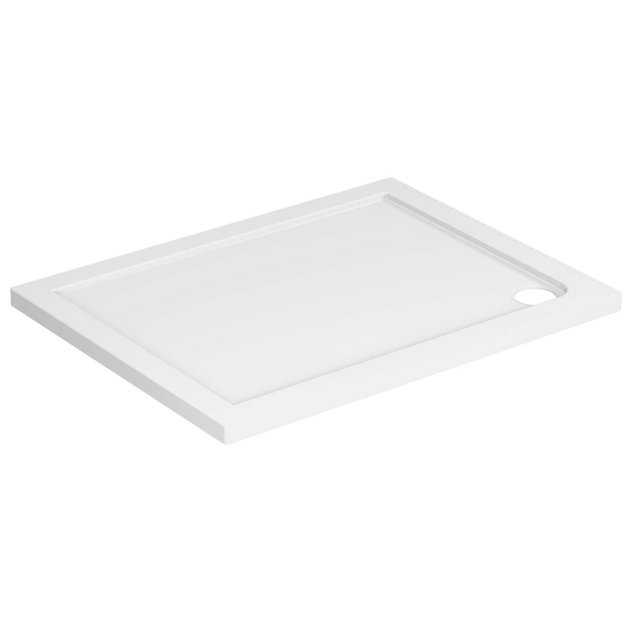 40mm Pearlstone 1000 x 760 Rectangular Shower Tray