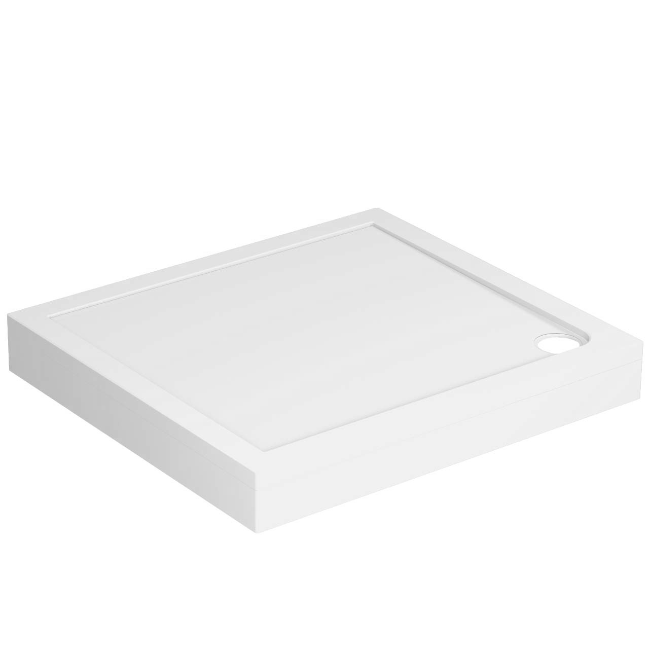 40mm Pearlstone 1000 x 900 Rectangular Shower Tray & Plinth