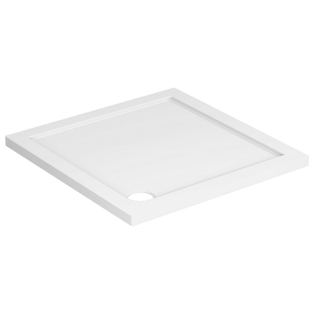40mm Pearlstone 800 x 800 Square Shower Tray