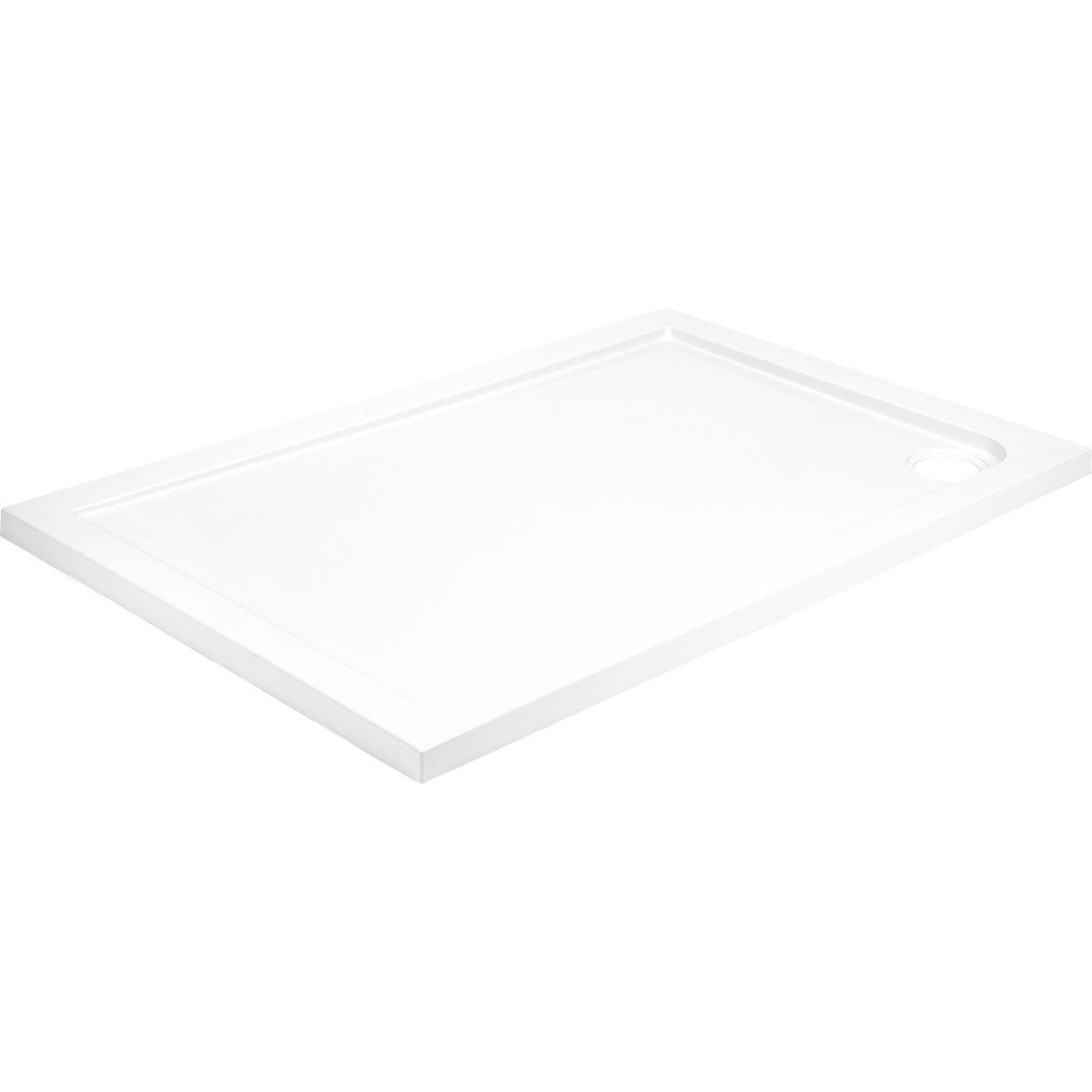 40mm Pearlstone 900 x 800 Rectangular Shower Tray