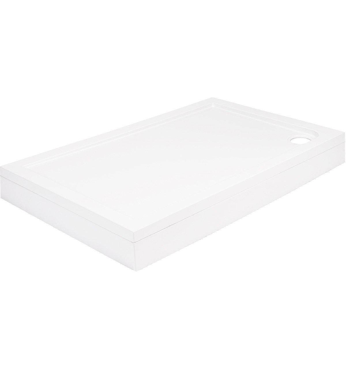 40mm Pearlstone 1000 x 760 Rectangular Shower Tray & Plinth
