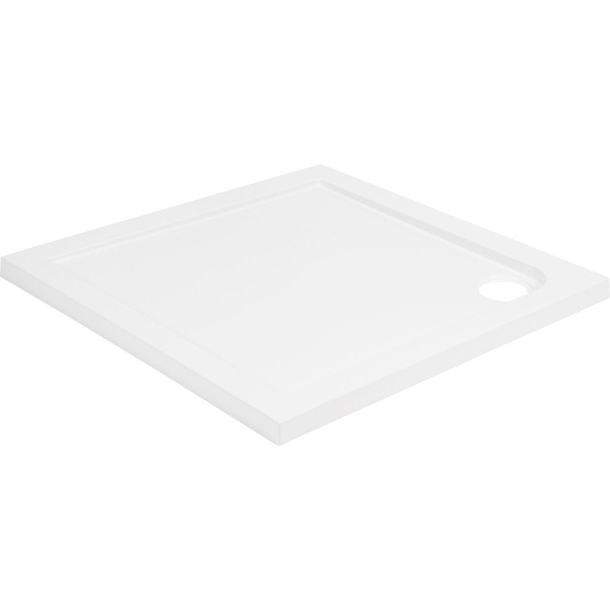 40mm Pearlstone 760 x 760 Square Shower Tray