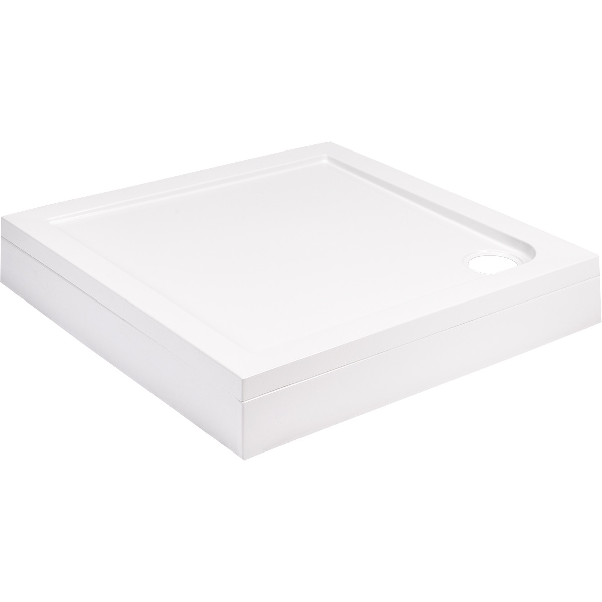 40mm Pearlstone 900 x 900 Square Shower Tray & Plinth