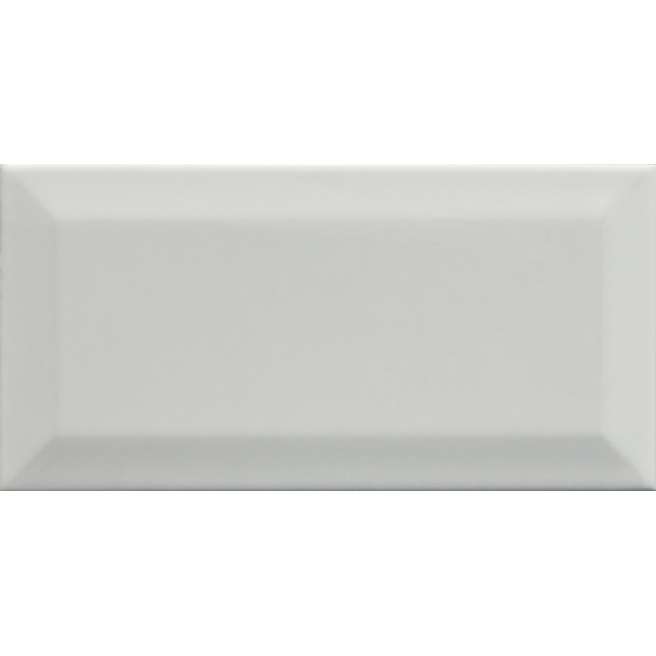 Metro Bevelled White 10x20 Ceramic Tile
