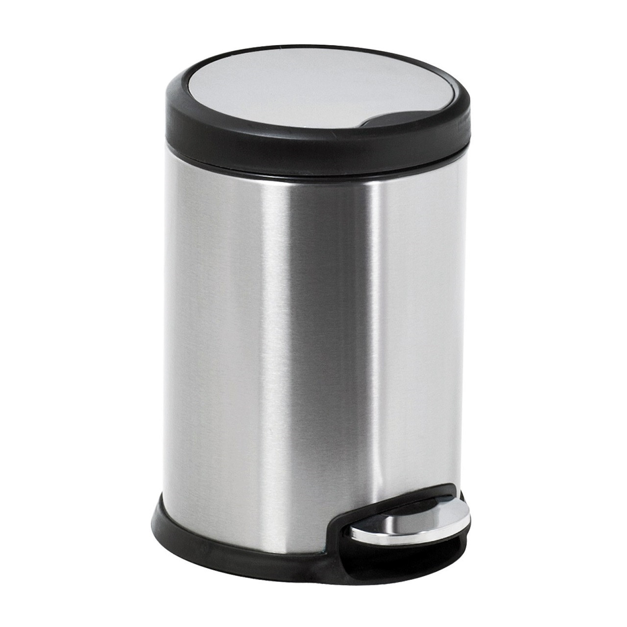 Aero Collection Stainless Steel Satin 3 Litre Pedal Bin