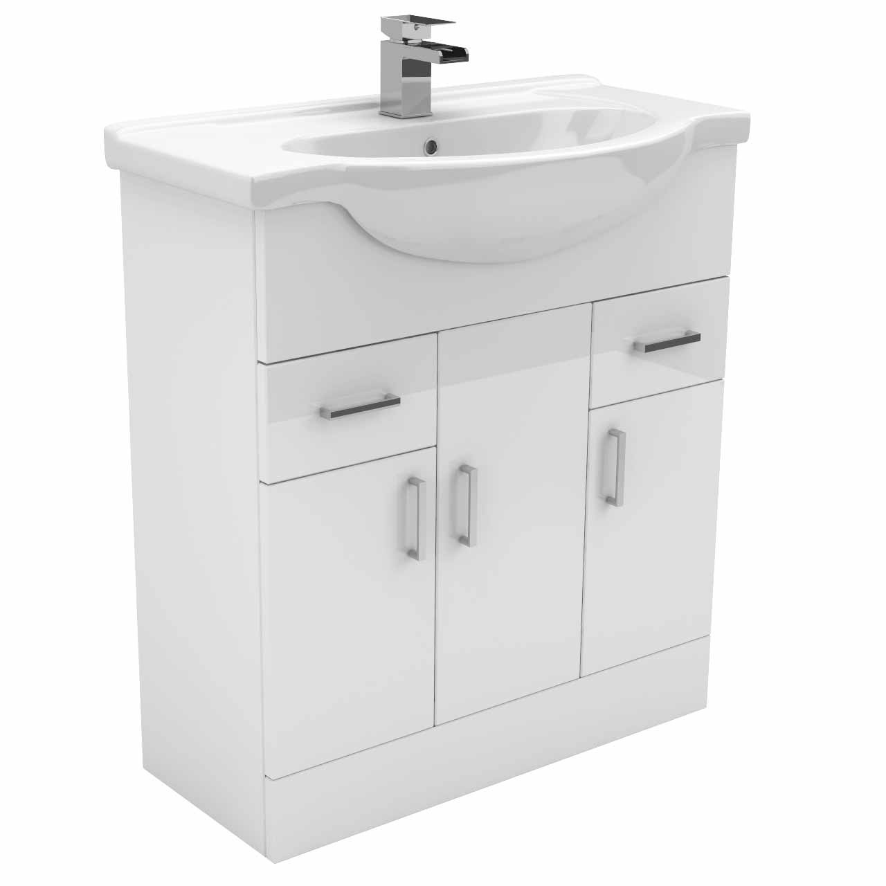 Alexander James 750mm Vanity Unit