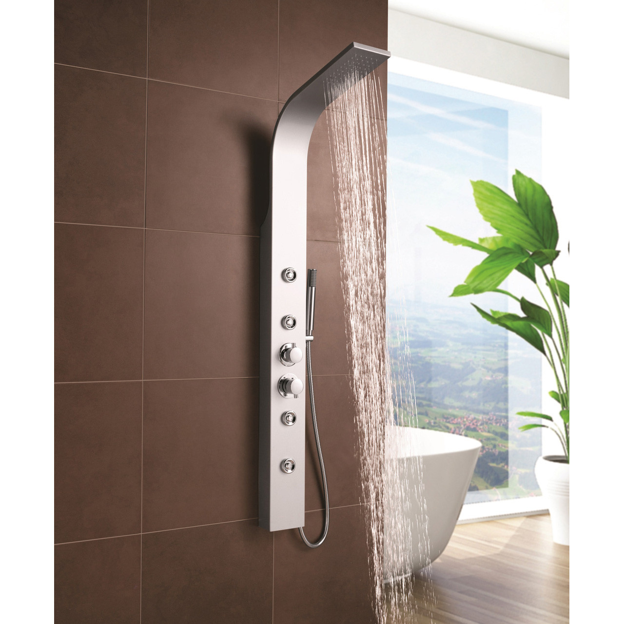 Andromeda Thermostatic Shower Column